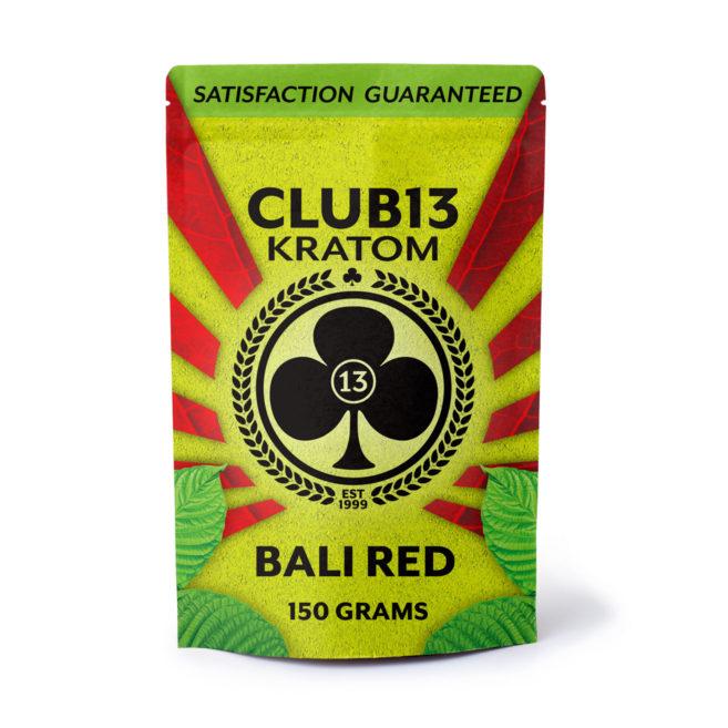 Picture of club13 bali red kratom powder 150gm