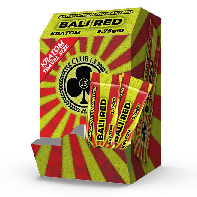 CLUB13 BALI RED STICK PACK BOX 50CT