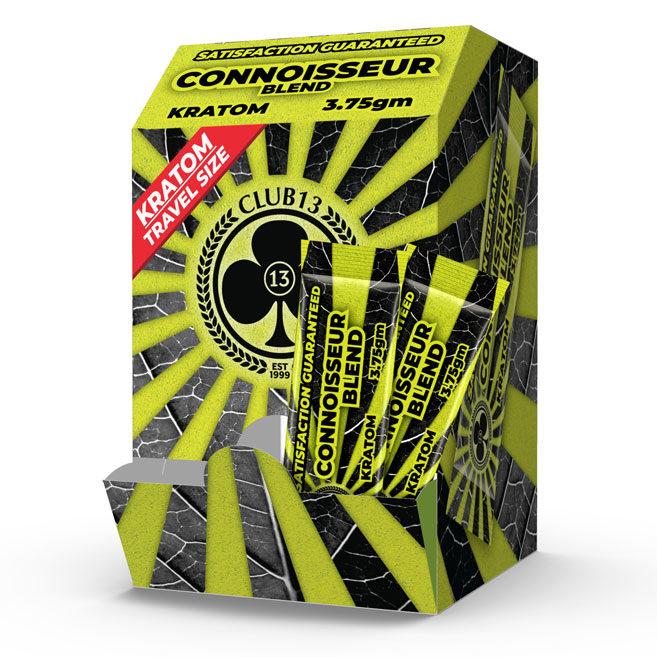 CLUB13 CONNOISSEUR BLEND STICK PACK BOX 50CT